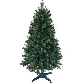 Árvore Decorada com Frutinhas 1,5m - Christmas Traditions