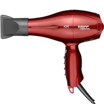 Secador de Cabelos Taiff Fire Fox Motor AC Profissional e Emissão de Íons 2100W - Vermelho