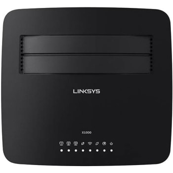 Roteador Wireless 300Mbps X1000-BR + Modem ADSL2 - Linksys