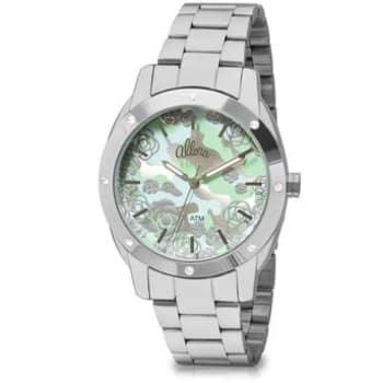 Relógio Feminino Casual Prata Al2036Fge/3K Allora