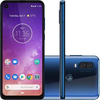 "Smartphone Motorola One Vision 128GB Dual Chip 4GB RAM Tela 6,3"""