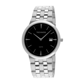 Relógio Technos Slim Masculino Prata Analógico 1M15AM/1P