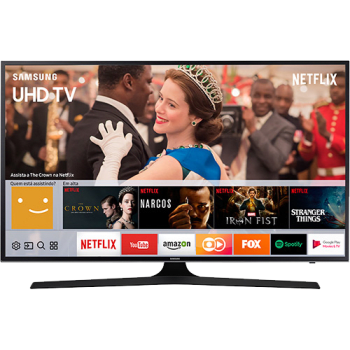 "Smart TV LED 49"" Samsung 49MU6100 UHD 4K HDR Premium com Conversor Digital 3 HDMI 2 USB 120Hz"