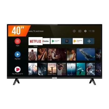 Smart TV TCL 40 Led Full HD com Entrada HDMI USB 40S6500FS