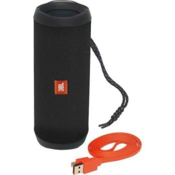 Caixa de Som Bluetooth Flip 4 Preto 8W USB - JBL