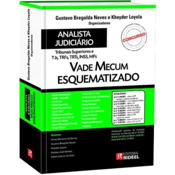 Livro - Vade Mecum Esquematizado Para Analista Judiciário 1ª Ed. - 2012