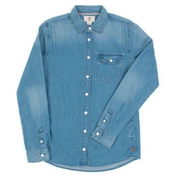 Camisa Jeans Manga Longa Forest River