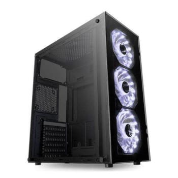 Gabinete Gamer Pichau Gaming Magpie II Led Branco