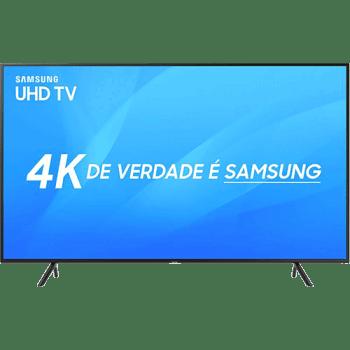 "Smart TV LED 55"" UHD 4K Samsung 55NU7100 3 HDMI 2 USB Wi-Fi"