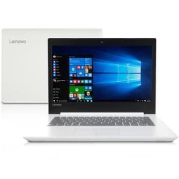 Notebook Lenovo Intel Core i3 4GB 500GB 80YF0008BR 14'' Windows 10 Branco