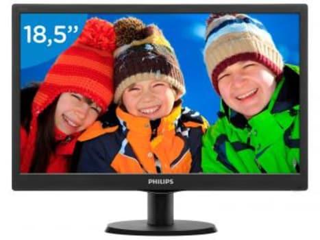 """Monitor Philips LED 18,5"""" HD Widescreen - 193V5LSB2 - Magazine Ofertaesperta"""