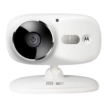 Câmera Wifi Focus 86 com Conexão com Smartphone, Motorola, Branco, Bivolt