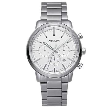3217b94f096 Relógio Akium Masculino Aço - 1X56GB08-VBSS-VD33 em Promoção no ...