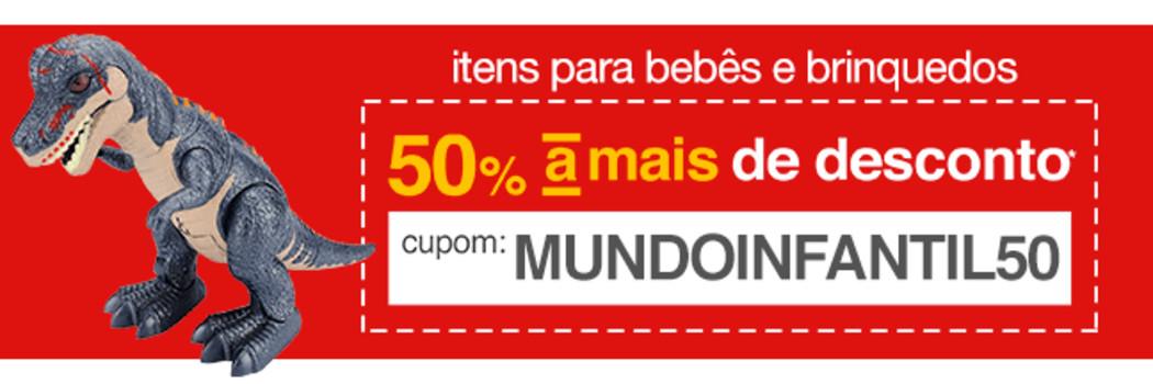 8473d9848 Promoção Americanas - Seleção de brinquedos e itens de bebê com 50% OFF no  cupom!!!