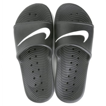 Sandália Nike Kawa Shower - Preto e Branco