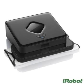 Robo Limpa Piso iRobot Braava 380t Preto - R6B380400