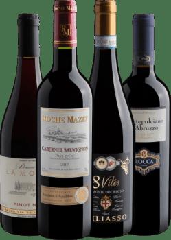 Kit 4 Vinhos Sucessos do Inverno