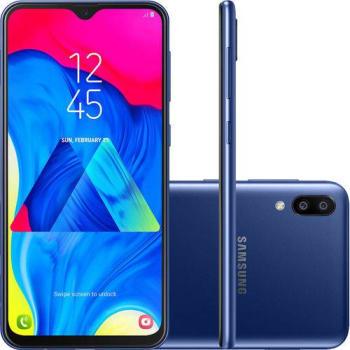 "(APP) - Smartphone Samsung Galaxy M10 32GB Dual Chip 3GB RAM Tela 6,2"""