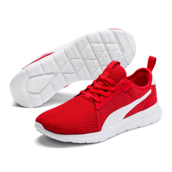 Tênis Puma Flex Fresh - Vermelho e Branco
