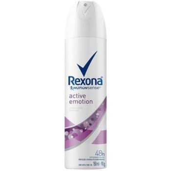 Desodorante Antitranspirante Aerossol Feminino Rexona Active Emotion 150ml