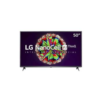 "Smart TV LG 50"" 4K NanoCell 50NANO79SND - WiFi Bluetooth HDR Inteligencia Artificial ThinQAI Google Assistente Alexa IOT"