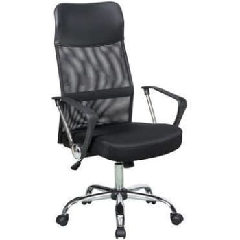 Cadeira de Escritório Carrefour Home Preta HO190812