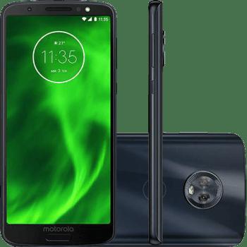 "Smartphone Motorola Moto G6 Plus Dual Chip Android Oreo - 8.0 Tela 5.9"" Octa-Core 2.2 GHz 64GB 4G Câmera 12 + 5MP (Dual Traseira) - Índigo"