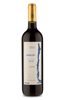 Baron Philippe de Rothschild Reserva Valle Central Merlot 2016 (750 ml)