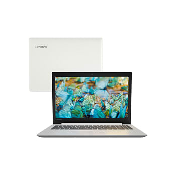 "Notebook Lenovo Intel Core i5-8250U 4GB 1TB 15.6"" Windows 10 IdeaPad 330 81FE000EBR Branco"