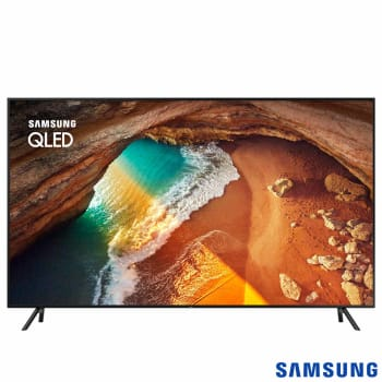 "Smart TV QLED 65"" Samsung QN65Q60RAGXZD Ultra HD 4K 4 HDMI 2 USB Wi-Fi Modo Ambiente 120Hz"