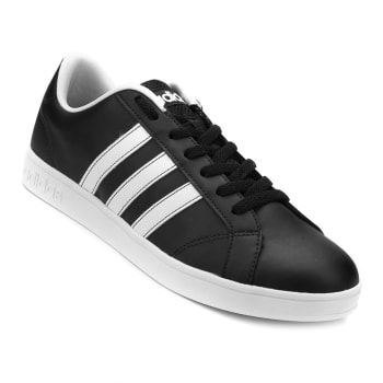 Tênis Adidas Advantage Vs - Preto e Branco