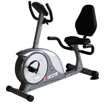 Bicicleta Horizontal Kikos KR5.6B Sistema Eletromagnético Bivolt