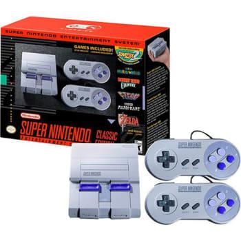 Console Super Nintendo Classic Edition + 2 Controles + 21 Jogos (Digitais) + Cabo HDMI