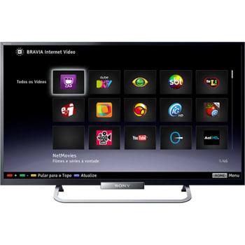 61c2108e4 Smart TV LED 32   Sony Full HD 2 HDMI Conversor Digital KDL-32W655A ...