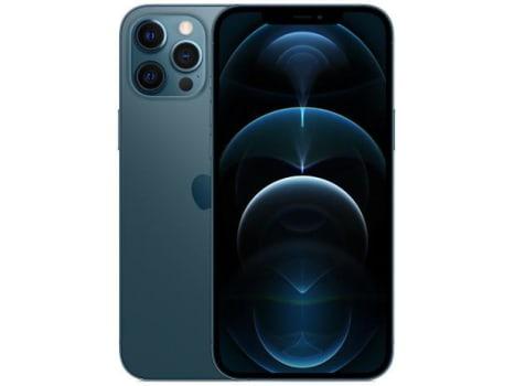 "iPhone 12 Pro Max Apple 512GB Azul-Pacífico 6,7"" - Câm. Tripla 12MP iOS - Magazine Ofertaesperta"
