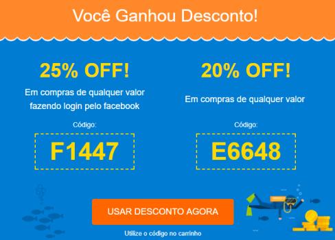 c87183a4f Cupom de 20% e 25% de desconto no Peixe Urbano em Promoção no Oferta ...