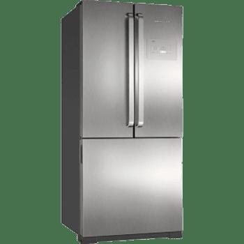 Refrigerador Brastemp Side Inverse BRO80 540 Litros Ice Maker Evox 110v