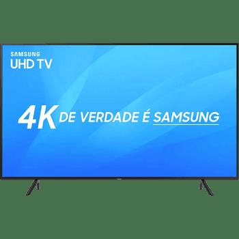 "Smart TV LED 65"" Samsung Ultra HD 4k UN65NU7100GXZD com Conversor Digital 3 HDMI 2 USB Wi-Fi Solução Inteligente de Cabos HDR Premium Smart Tizen"
