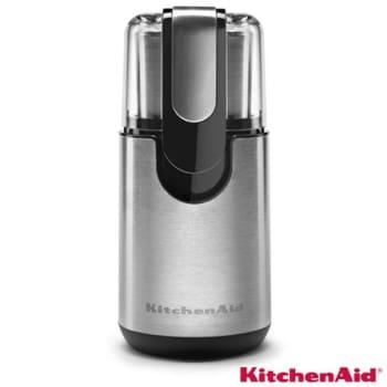 Moedor Elétrico KitchenAid para Café, Grãos e Temperos Inox com 1 Velocidade, Capacidade de 125 ml e 62 ml - KJB22AR