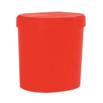Lixeira de Polipropileno 2,5 Litros Pimenta - Coza