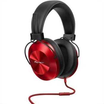 Fone de Ouvido Headphone Pioneer Vermelho P2 SE-MS5T-R
