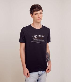 Camisetas com Estampas de Signos a partir de R$17,90