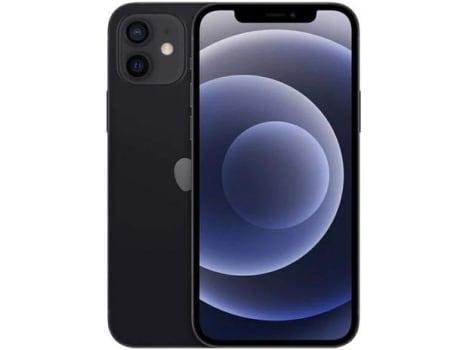 "iPhone 12 Apple 64GB - Preto Tela 6,1"" 12MP iOS - Magazine Ofertaesperta"