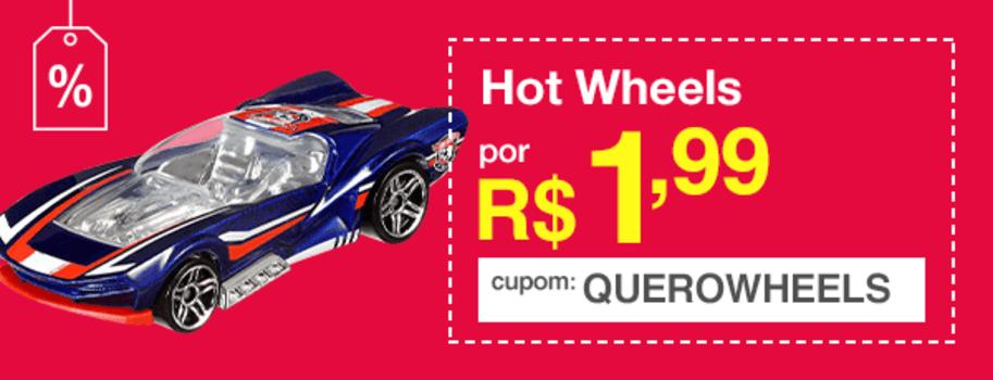 [Primeira Compra] Carrinhos Hot Wheels