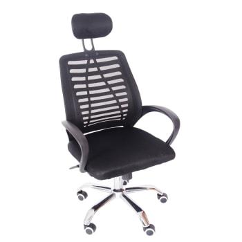 Cadeira Secretária Giratória Trevalla TL-CDE-23-1 Preta