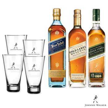 Combo Whisky Johnnie Walker + 04 Copos Highballs - 2147440925_PRD
