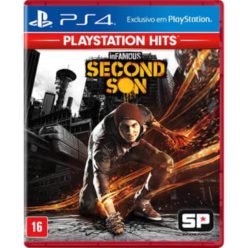 Game Infamous Second Son Hits - PS4