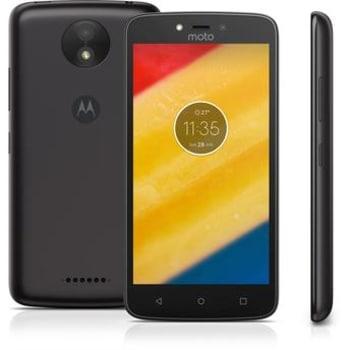Smartphone Moto C Plus XT1726 Preto Dual Chip Android 7.1.1 Nougat 4G Wi-Fi Câmera 8 MP