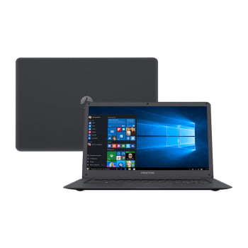 "Notebook Positivo Motion Q232A Atom Z8350 2GB 32GB SSD Tela HD 14"" Windows 10"