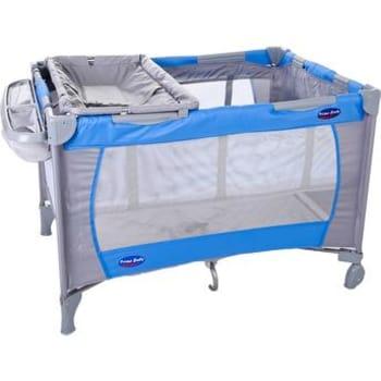 Berço Mochila Prime Baby com Porta Fraldas Amici Azul